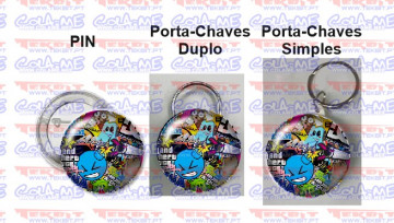 Pin / Porta Chaves - Bomb Sticker
