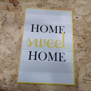 Placa Decorativa em PVC - Home sweet Home