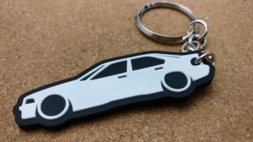 Porta Chaves com silhueta de BMW E36 4 Portas