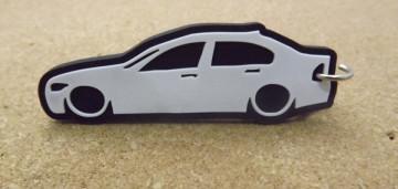 Porta Chaves com silhueta de BMW E90 - Série 3