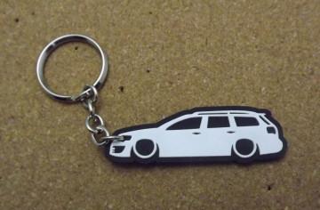 Porta Chaves com silhueta de Volkswagen Passat B6
