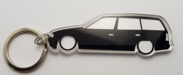 Porta Chaves de Acrílico com silhueta de Opel Astra F Caravan