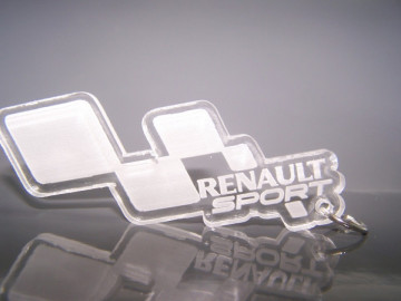 Porta Chaves de Acrílico para Renault Sport
