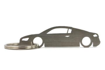 Porta Chaves em inox com silhueta com Audi R8