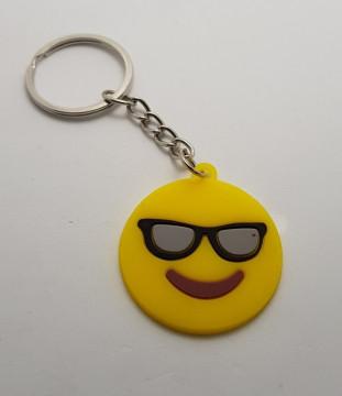 Porta Chaves - Emoji de óculos