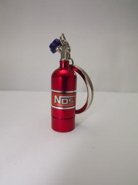 Porta Chaves - Garrafa Nitro em Vermelho com lanterna