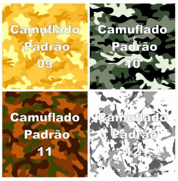 Rolo Vinil Camuflado - Sem laminação