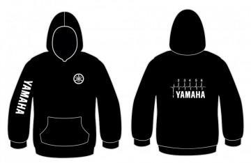 Sweatshirt com capuz com Yamaha Velocidades