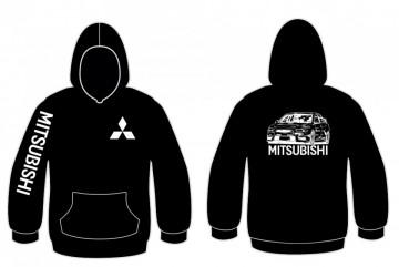 Sweatshirt com capuz Mitsubishi Evo X