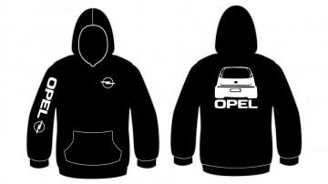 Sweatshirt com capuz - Opel Corsa C