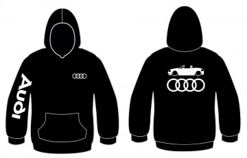 Sweatshirt com capuz para Audi TT 8N Cabrio