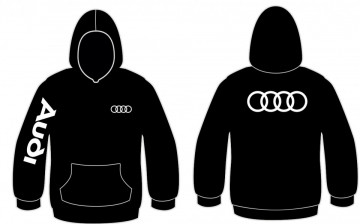 Sweatshirt com capuz para Audi