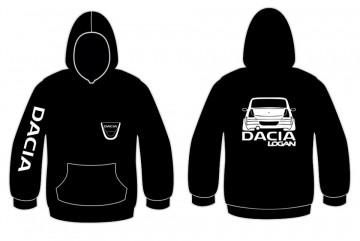 Sweatshirt com capuz para Dacia Logan