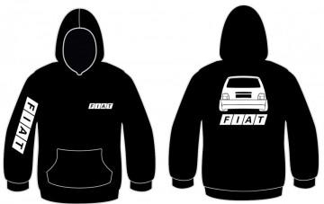 Sweatshirt com capuz para  Fiat Uno Traseira