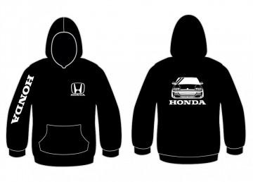 Sweatshirt com capuz para Honda Civic CRX