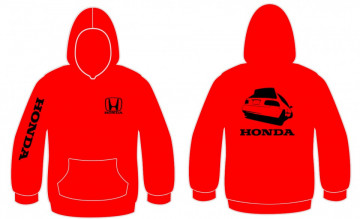Sweatshirt com capuz para Honda Civic EG6