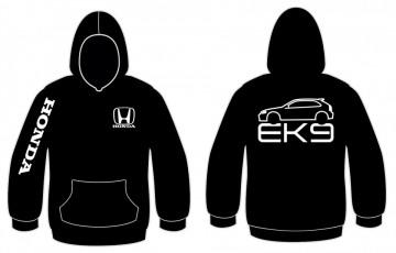 Sweatshirt com capuz para Honda Civic EK9