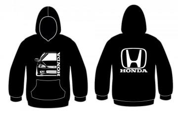 Sweatshirt com capuz para Honda Civic EK