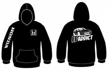 Sweatshirt com capuz para HONDA EFADDTIC