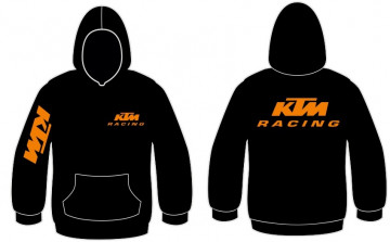 Sweatshirt com capuz para KTM