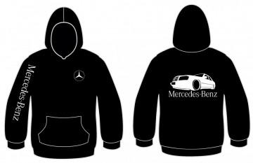 Sweatshirt com capuz para Mercedes-Benz W124