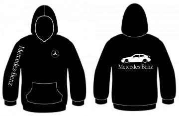 Sweatshirt com capuz para Mercedes c220 coupe