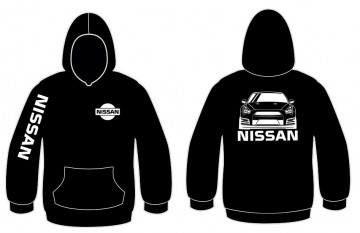 Sweatshirt com capuz para Nissan GTR R35