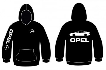 Sweatshirt com capuz para Opel Calibra