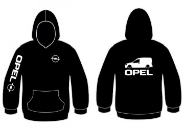 Sweatshirt com capuz para Opel Combo C