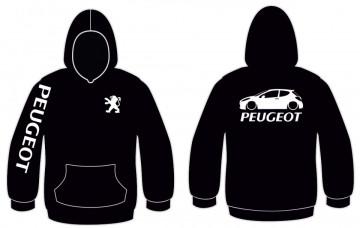 Sweatshirt com capuz para Peugeot 207