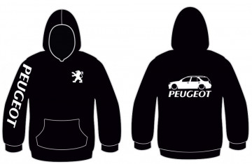 Sweatshirt com capuz para Peugeot 306 Station