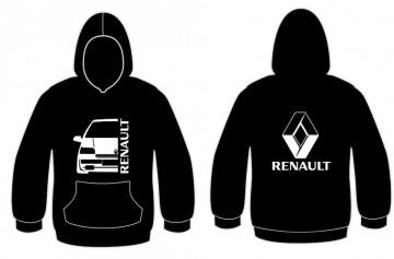 Sweatshirt com capuz para Renault Clio MK1 fase 1