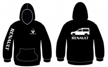 Sweatshirt com capuz para Renault Express