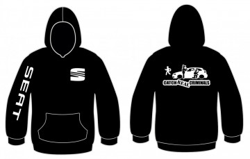 Sweatshirt com capuz para Seat Cath Real Criminals