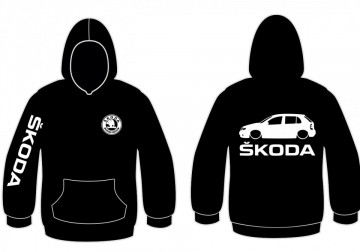 Sweatshirt com capuz para Skoda Fabia 6Y