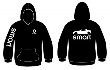 Sweatshirt com capuz para Smart Roadster