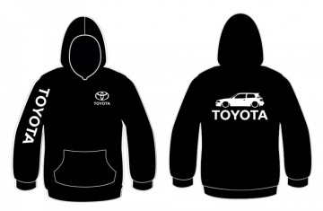 Sweatshirt com capuz para Toyota Corolla