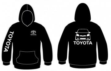Sweatshirt com capuz para Toyota Yaris