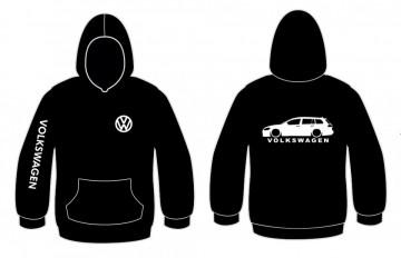 Sweatshirt com capuz para Volkswagen Golf 7 Variant