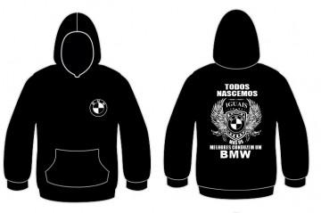 Sweatshirt com capuz Todos Nascemos (BMW)