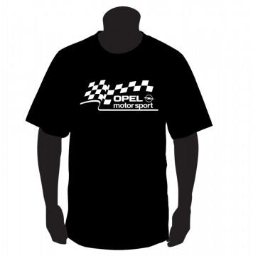 T-shirt  com Opel Motorsport