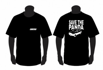 T-shirt com Save the Panda