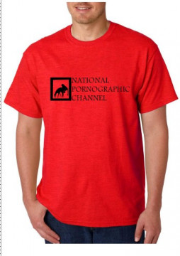 T-shirt  - NATIONAL PORNOGRAPHIC CHANNEL