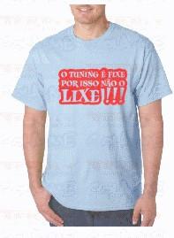 T-shirt  - O Tuning é Fixe Por Isso Não O Lixe