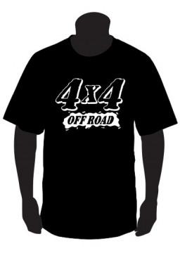 T-shirt para 4x4 off Road