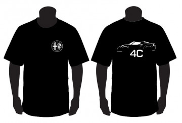 T-shirt para Alfa Romeo 4C