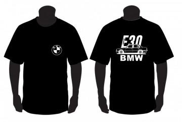 T-shirt para BMW E30 4portas