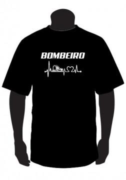 T-shirt para Bombeiro, batimentos.