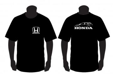 T-shirt para honda civic 9 gen