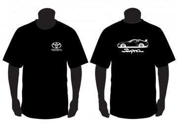 T-shirt para Toyota Supra